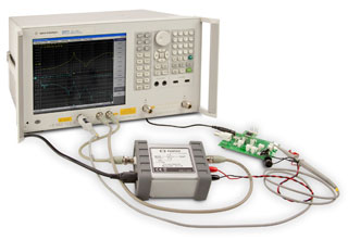 Agilent E5061B with Picotest's popular line of Signal Injectors