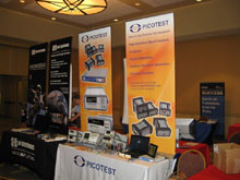 Picotest Booth at TI Tech Days in New Jersey